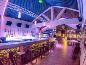 Le Moo bar, joli cadre pour animer l'après-ski...
