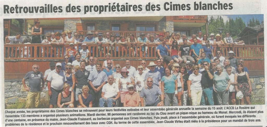 coupure de presse 18082015 - copie