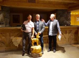 Les Renards des Cimes, Bernard Fuchs et Pascal Foureur ont été les plus pertinents dans leurs réponses et ils remportent le rallye.